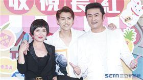 《一起幹大事》首映會,李㼈、苗可麗、王滿嬌。(記者林士傑/攝影)