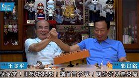 王金平郭台銘直播。