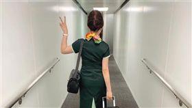 一名前長榮空姐在臉書PO文自曝離職秘辛。(圖/翻攝自臉書)