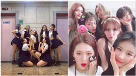 南韓女歌手Somi在結束團體I.O.I的活動之後,苦等2年,終於重新以個人歌手身分出道,推出新曲《BIRTHDAY》大受好評,近日Somi積極出演各大音樂節目,但卻因為伴舞的舞群太過搶鏡,意外成為話題!舞台上,Somi的伴舞們和她造型相似,加上各個身材姣好、外型出眾,其中一個伴舞竟還因此登上新聞版面,讓Somi的粉絲相當不滿,引發爭議。(圖/翻攝自twitter@JEONSOMI_INTL)
