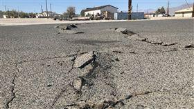 南加州地震,圖/美聯社/達志影像