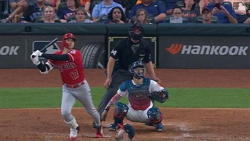 ▲大谷翔平開轟慶生,韋蘭德(Justin Verlander)是苦主。(圖/翻攝自MLB官網)