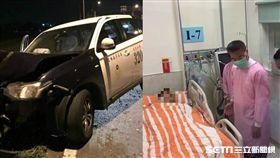 雲林警抓嫌遭重傷、 內政部長徐國勇探視
