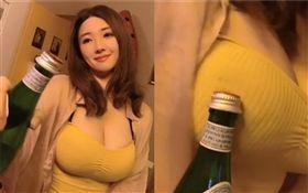 小嗨,瓶蓋挑戰(圖/翻攝自stilleecho IG)