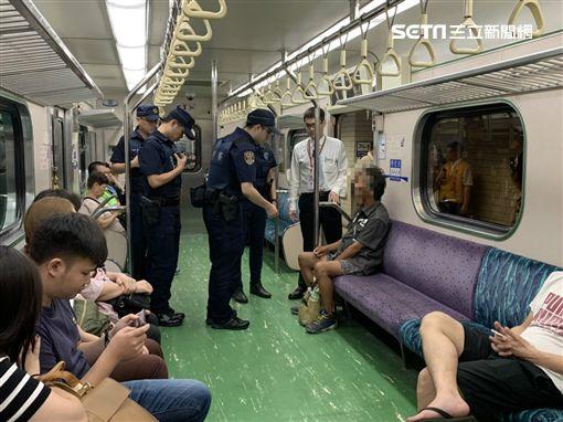 台北,區間車,鐵路警察,逃票,武裝