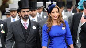 杜拜,公主,親王,保鑣,綠帽,捲款,逃脫,禮節,躲藏,軍官,王室 圖/翻攝自推特