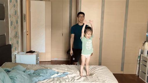 隋棠老公Tony 女兒Lucy 圖/臉書