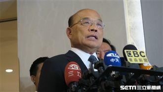 因應首颱 蘇揆指示召開情資研判會議