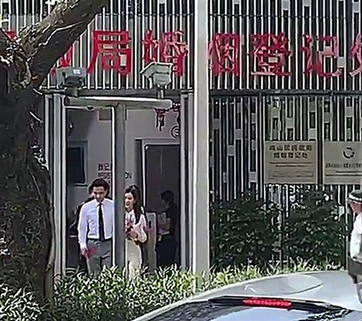 楊冪,劉愷威,離婚/翻攝自微博