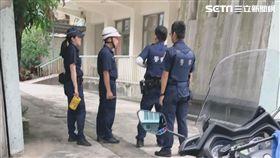 台北市中正區聖維雅納天主堂發生墜樓事件(讀者提供)