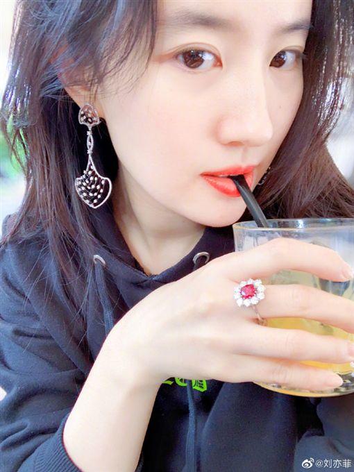 劉亦菲 花木蘭 微博