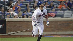 ▲大都會一壘手阿隆索(Pete Alonso)明星賽前敲出30轟。(圖/美聯社/達志影像)