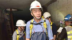 韓國瑜視察下水道僅待6分鐘 圖/高市府提供