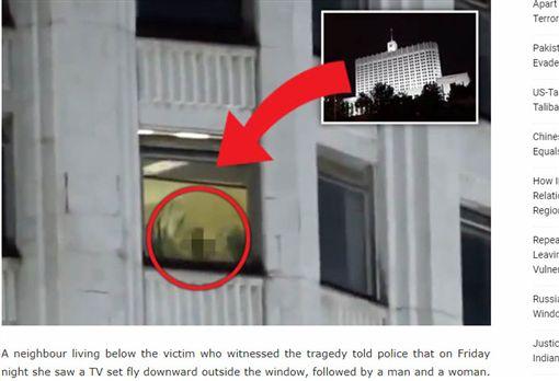 和前男友窗台啪啪!女「樂極生悲」墜9樓慘死(圖/翻攝自eurasiantimes)