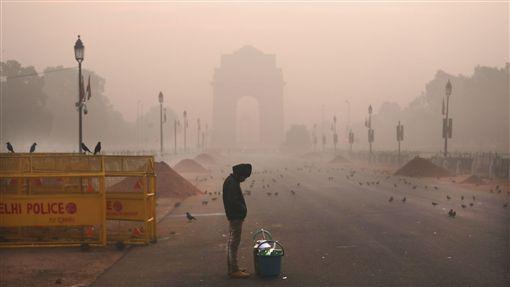 印度,德里,空氣污染,健康檢查,呼吸道疾病