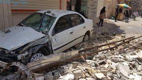 伊朗,地震(圖/翻攝自推特)
