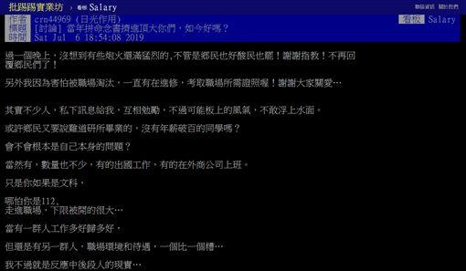頂尖,大學,發展,月薪,PTT 圖/翻攝自