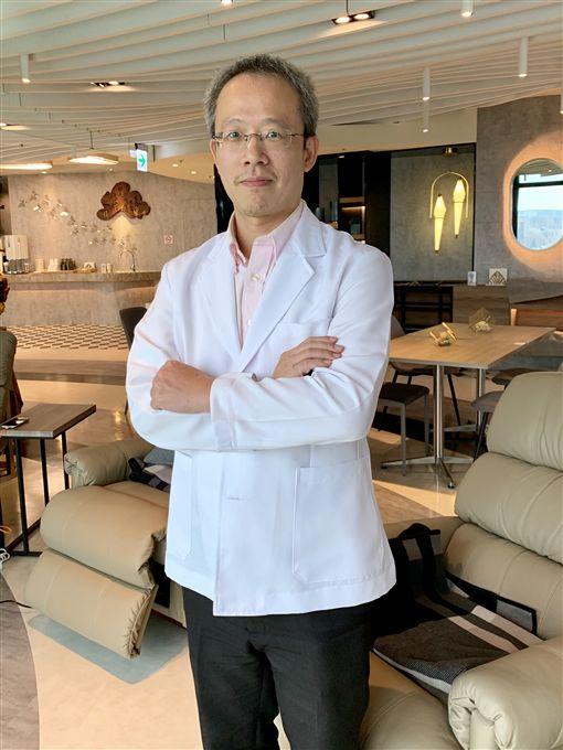 台中榮總放射腫瘤專科權威醫師趙勇全(記者郭奕均攝影)