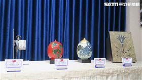 總統府9日上午召開總統「自由民主永續之旅」贈禮說明記者會。(圖/記者盧素梅攝)
