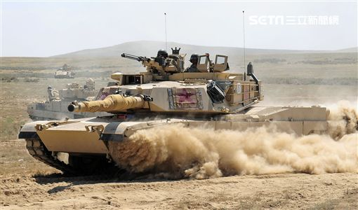 美國政府同意軍售「M1A2戰車」。(圖/美國國防部網站)