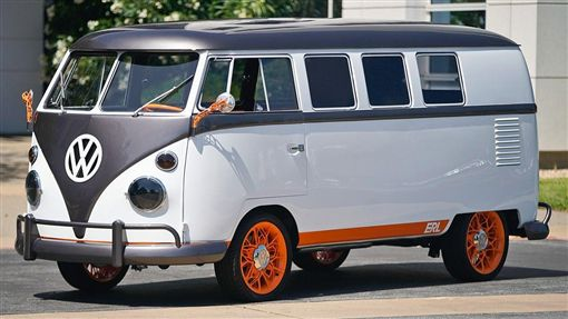 ▲Volkswagen Type 20電動露營車。(圖/翻攝網站)