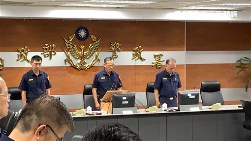 台北,警政署,李承翰,陳家欽。呂品逸攝