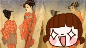 毛巾,浴巾,熱水,和服,日本,禮物,爆廢公社,創意,驚喜 圖/翻攝自爆廢公社臉書