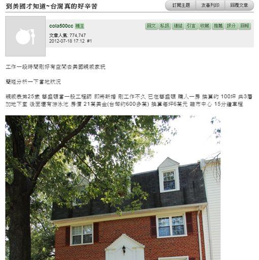 美國,物價,生活,台灣,mobile01 圖/翻攝自mobile01