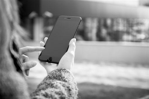 滑手機,傳訊息,手機,簡訊(圖/翻攝自pixabay)