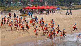 ▲搶灘料羅灣與第10屆金廈泳渡活動將於周末登場。(圖/大會提供)