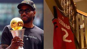 NBA/龍迷「自宅引退」可愛球衣! NBA,多倫多暴龍,Kawhi Leonard,總決賽MVP 翻攝自推特