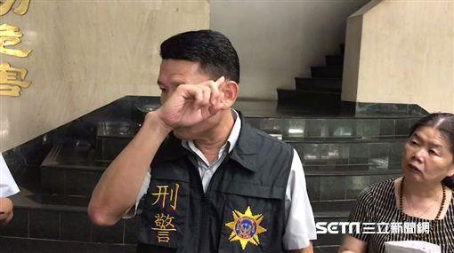 中打警赴嘉義圍捕陳宏宗受傷/翻攝畫面