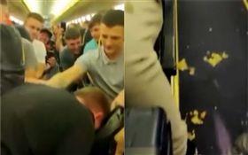 飛機,航班,乘客,失控,嘔吐,吼叫(圖/翻攝自FN TechRoom YouTube)