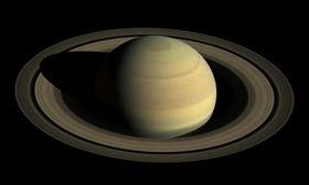 土星,土星衝(圖/翻攝自推特)