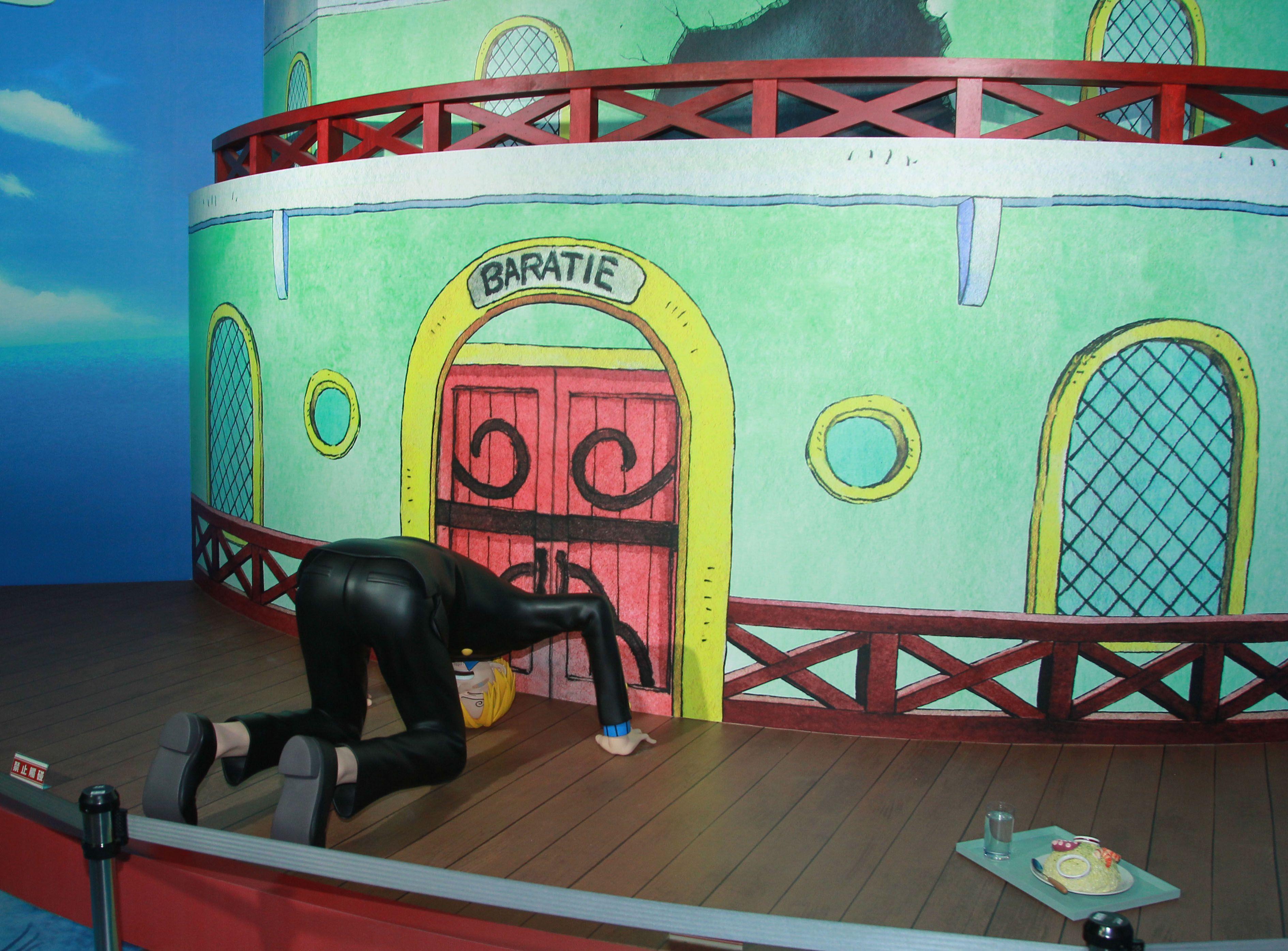 ONE PIECE動畫二十週年紀念特展。(記者邱榮吉/攝影)