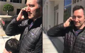 種族歧視?黑人大樓外等朋友 他竟上前質問「打電話報警」(圖/翻攝自Wesly Michel臉書)