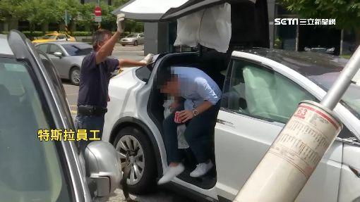 賠慘了!特斯拉、公車對撞 試乘者送醫