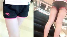 真理褲,女兒,美腿,爸爸 圖/翻攝臉書