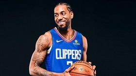 NBA/可愛正式簽快艇!合約藏玄機 NBA,洛杉磯快艇,Kawhi Leonard,球員選項 翻攝自推特
