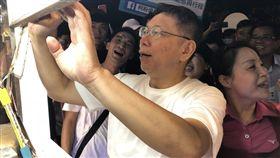 柯文哲前往屏東恆春以及墾丁大街 圖/記者黃宣尹攝影
