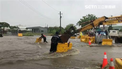 淹水,神農路,高雄,鳥松,韓國瑜,清淤