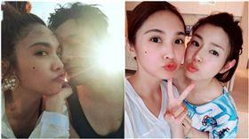 楊丞琳、陳妍希、李榮浩(圖/微博)
