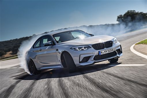 ▲BMW M2 Competition手排版。(圖/BMW提供)