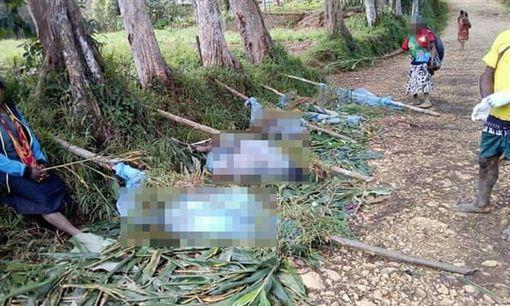 村莊遭襲 2孕婦8童遭「切碎綁樹」(圖/翻攝自Alwaght推特)