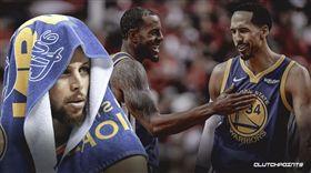 NBA/兩大奪冠老臣離隊 柯瑞說… NBA,金州勇士,Andre Iguodala,Shaun Livingston,Stephen Curry 翻攝自推特Clutch Points