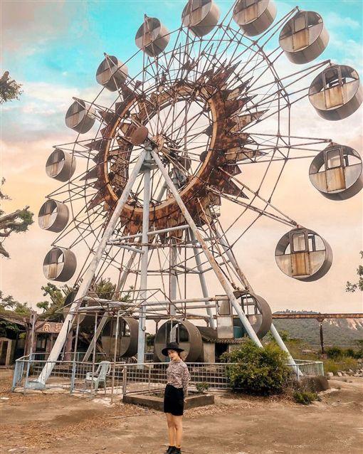 暑假旅遊景點,台中后里石頭公園(翻攝自ig _uu58)