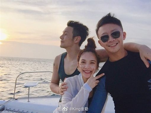楊丞琳、金勤、李榮浩/翻攝自微博