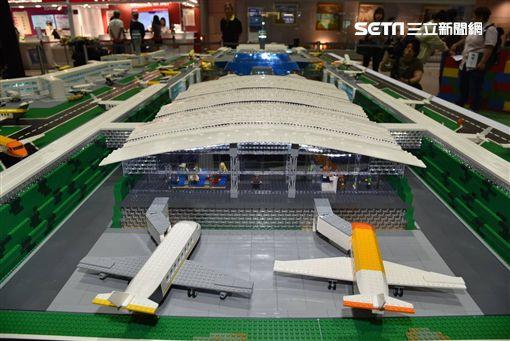 桃園機場,樂高,/桃園機場公司提供