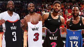 NBA/保羅被賣 韋德自嘲:我害的 NBA,奧克拉荷馬雷霆,Russell Westbrook,休士頓火箭,Chris Paul,Dwyane Wade 翻攝自推特