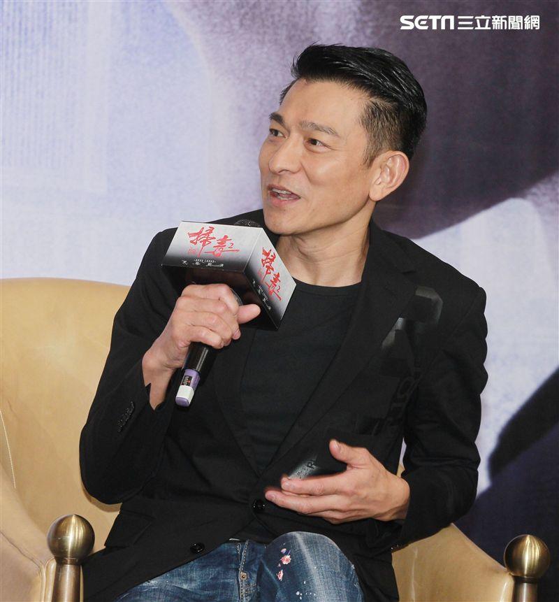 「掃毒2 天地對決」監製、演員劉德華。(記者邱榮吉/攝影)